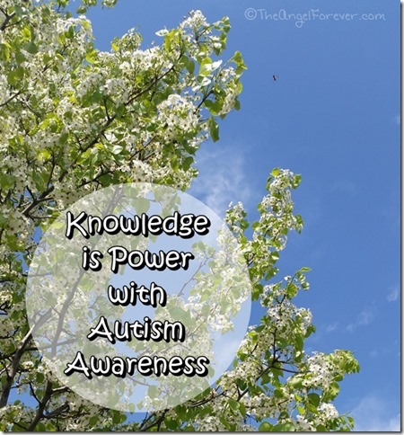 Knowledge is power with autism awareness