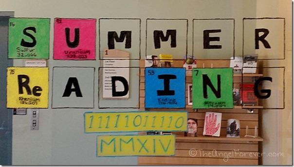 Summer Reading Program Periodic Table