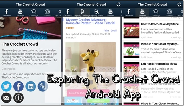 The Crochet Crowd Android App