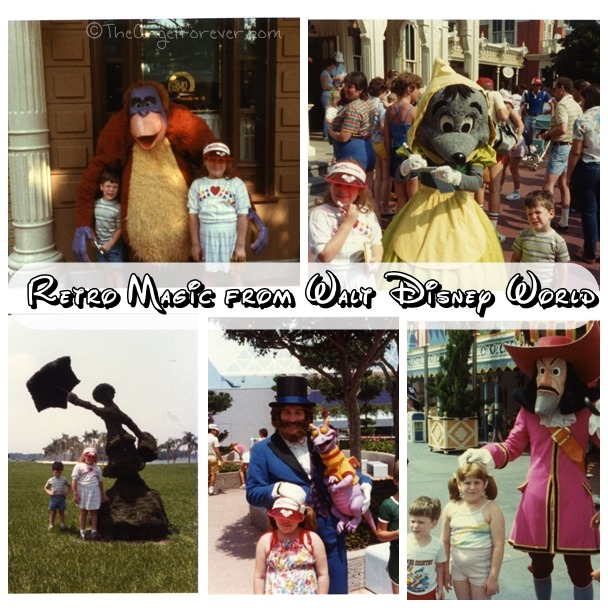 Retro moments from Walt Disney World