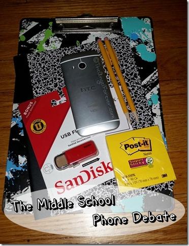 The Middle School Phone Debate