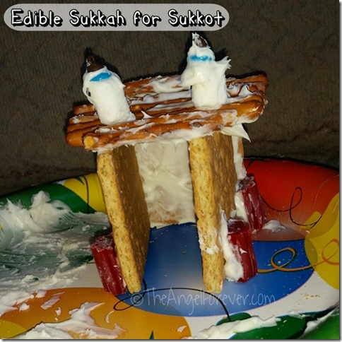 Edible Sukkah for Sukkot