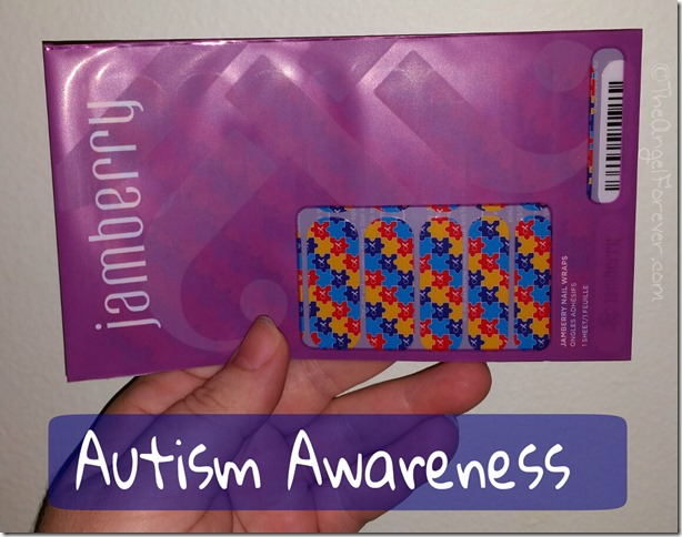 Jamberry Autism Awareness Nail Wraps