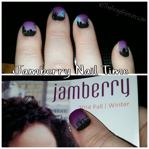 Jamberry Nail Wrap Time - Fright Night