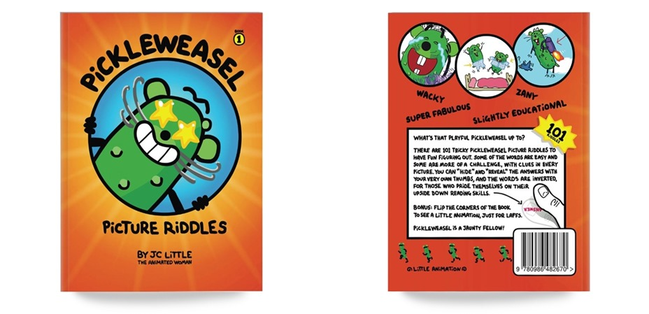 Pickle Weasel Picture Riddles by JC Little