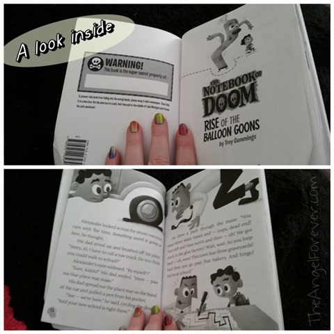 Inside The Notebook of Doom book
