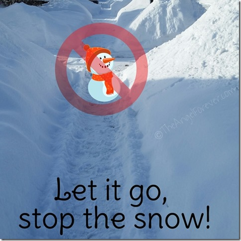 Let it go, stop the snow