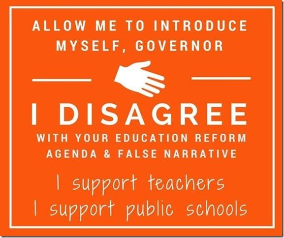 I support teachers and public schools