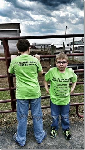 Opt Out of Testing Shirts