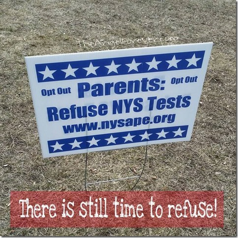 Refuse the NYS Tests
