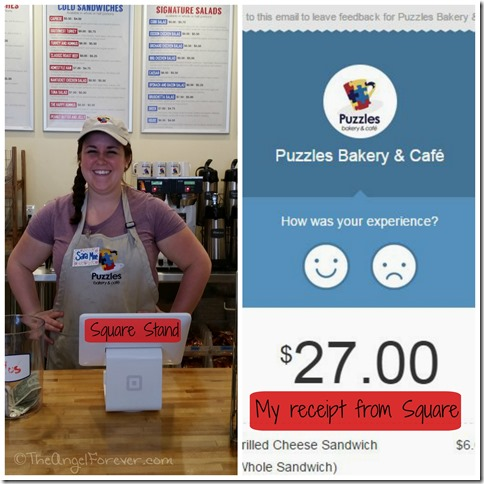 Square Used at Puzzles Bakery and Cafe