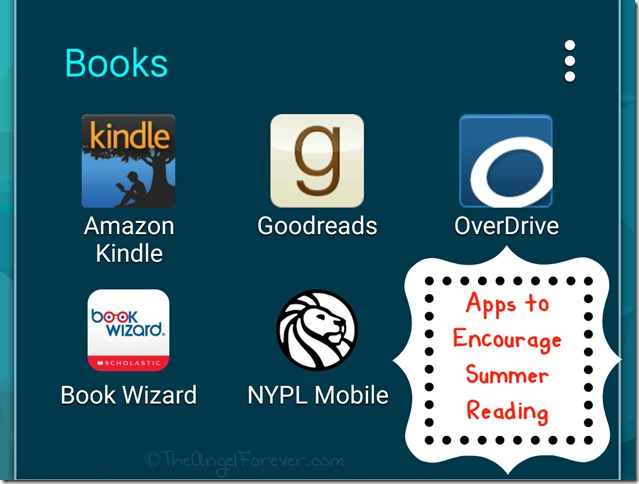 Apps to Encourage Summer Reading
