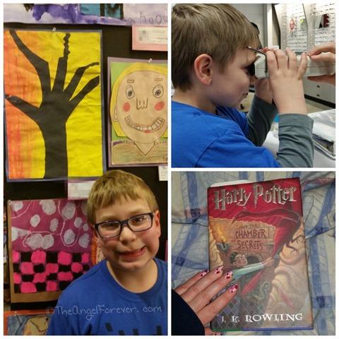 My little artist and reader