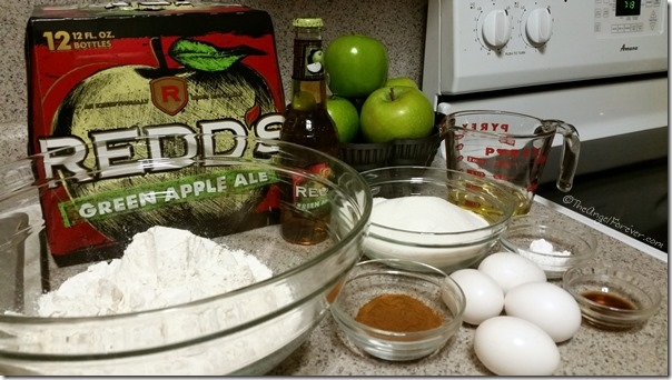 Apple Ale Cake Ingredients