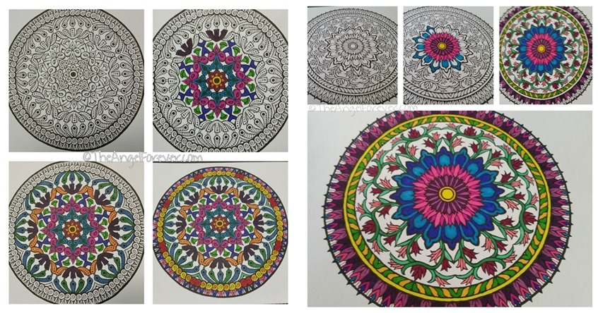 Beautiful Mandala to color