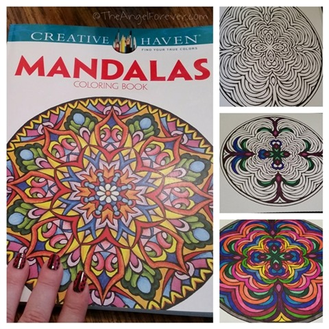 Creative Haven Mandalas Coloring Book