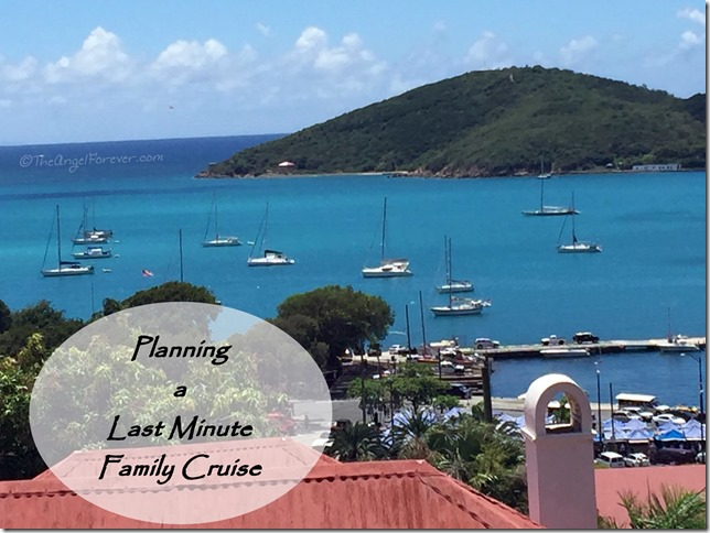 Planning a Last Minute Family Cruise