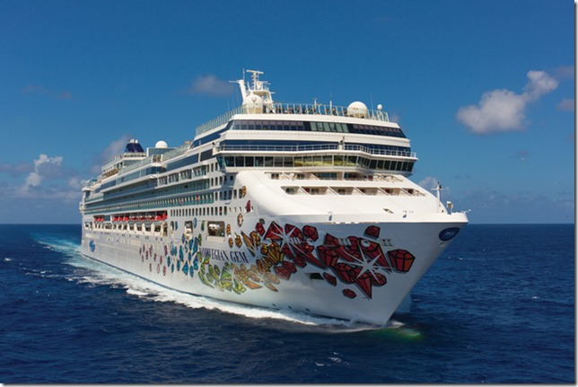 NCL Gem - photo credit Norwegian Cruise Line