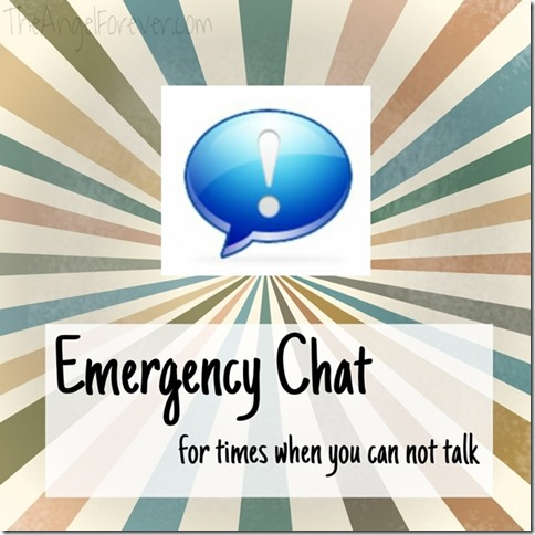 Emergency chat review