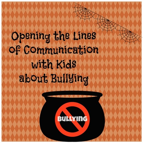 Opening lines of communication with kids about bullying