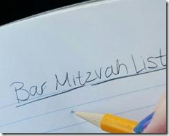 Bar Mitzvah List