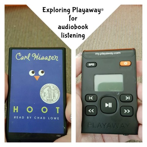 Exploring Playaway for audiobook listening