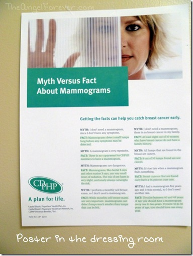 Mammogram myths
