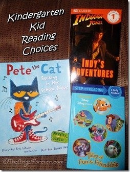 Kindergarten Reading Choices