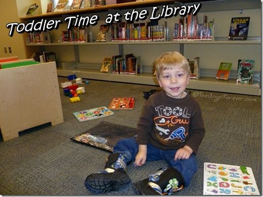 Toddler Time at the Library - January 2011