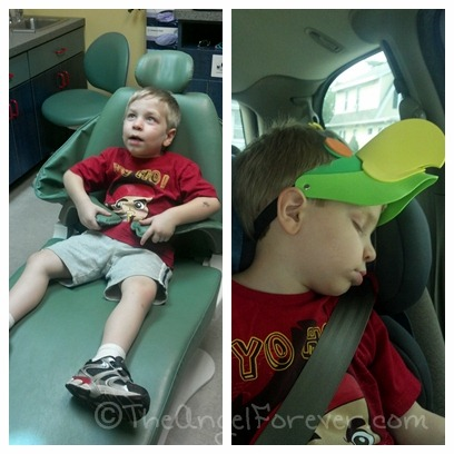 Dentist chair and nap