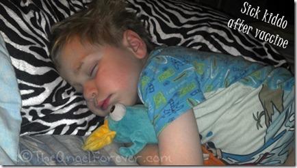 Sick after vaccine