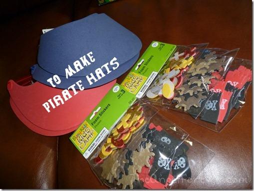 Pirate Hat Supplies