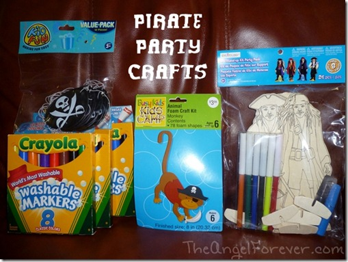 Pirate Party Craft Supplies