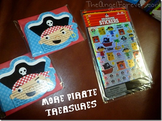 Pirate Party Treasures