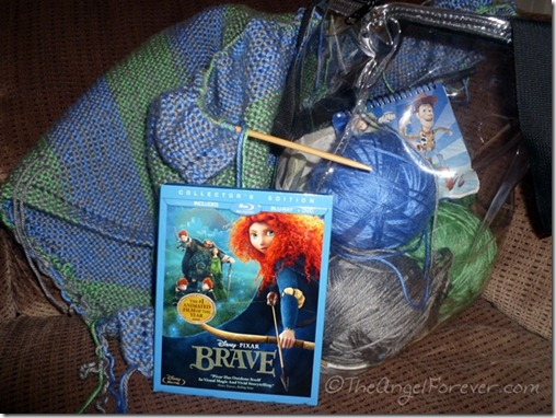 Brave DVD and Knitting