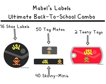 Ultimate Back-To-School Combo from Mabel's Labels