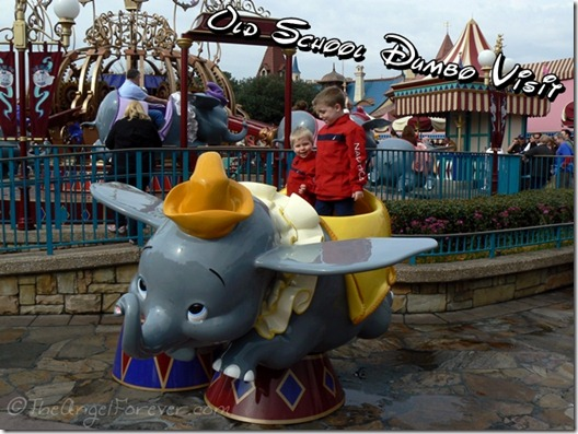 Original Dumbo Ride at The Magic Kingdom