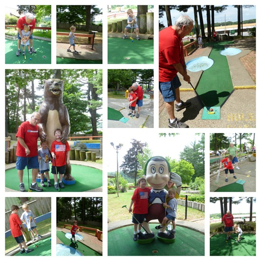 Fourth of July Mini Golf