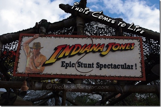 Indiana Jones Stunt Show at Hollywood Studios