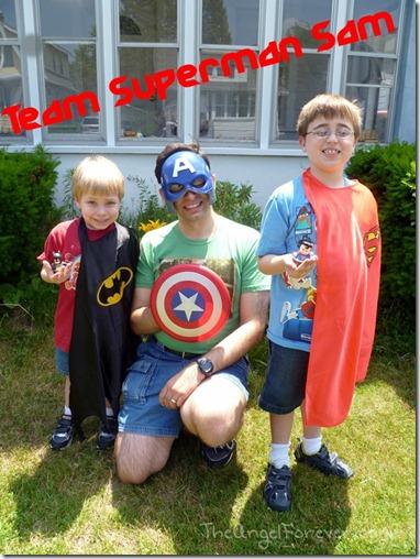Team Superman Sam