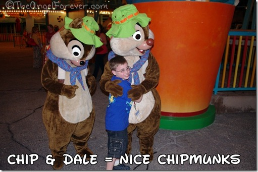Chip and Dale are acceptable chipmunks