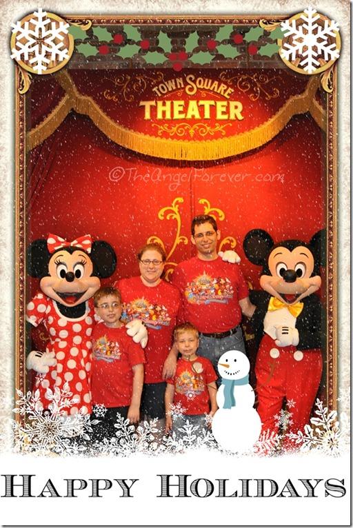 Disney Winter Greetings