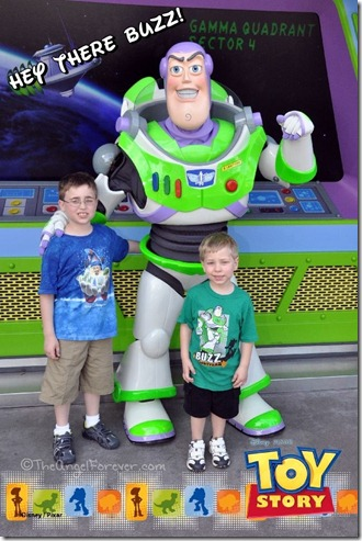 To Infinity and Beyond with Buzz Lightyear