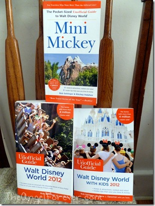 2012 Unofficial Disney Books