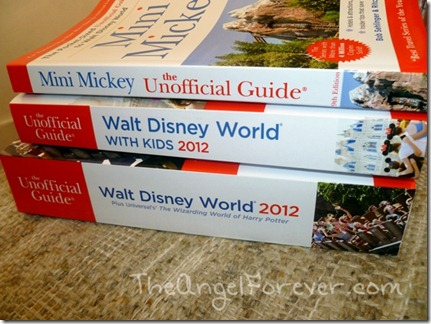 Walt Disney World Books