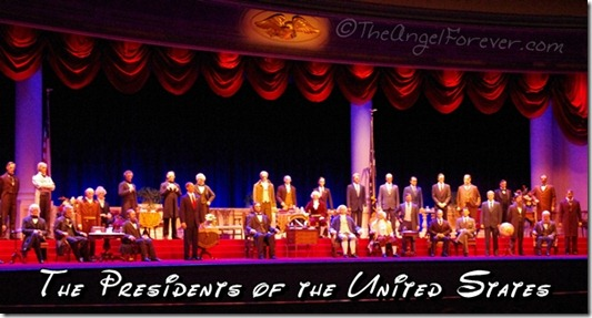 All of the US Presidents in The Hall of Presidents