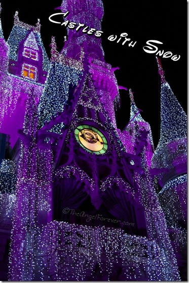 Cinderella's Castle for the holidays