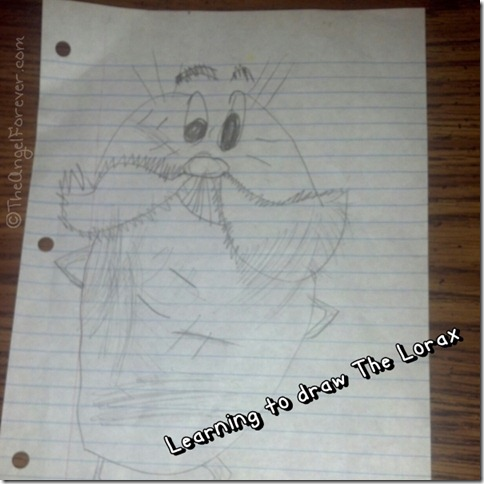 Drawing The Lorax