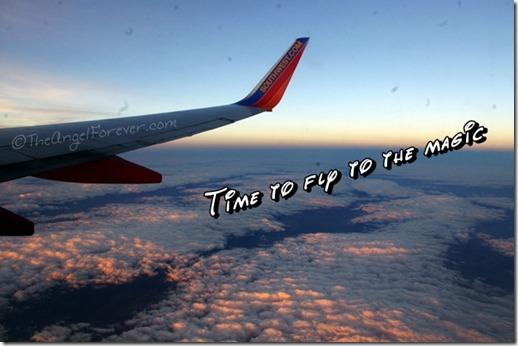 Flying with Southwest Air to Walt Disney World