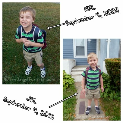Kindergarten kids 2008 and 2012